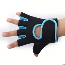 Multi-couleurs femmes hommes Fitness exercice entraînement Fitness sport demi doigt gants gymnastique formation randonnée gants