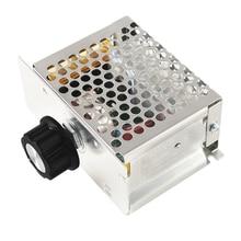 10 Pcs Speed Controller of Engine Control Engine AC 110 V 4000 W SCR High Power Voltage Regulator Controller
