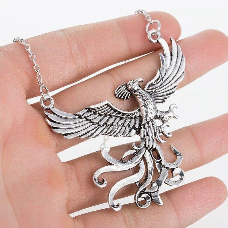 Ожерелье Феникса ювелирные изделия из фильма «Дамблдор», дизайнерские неувядающие птицы, аксессуары