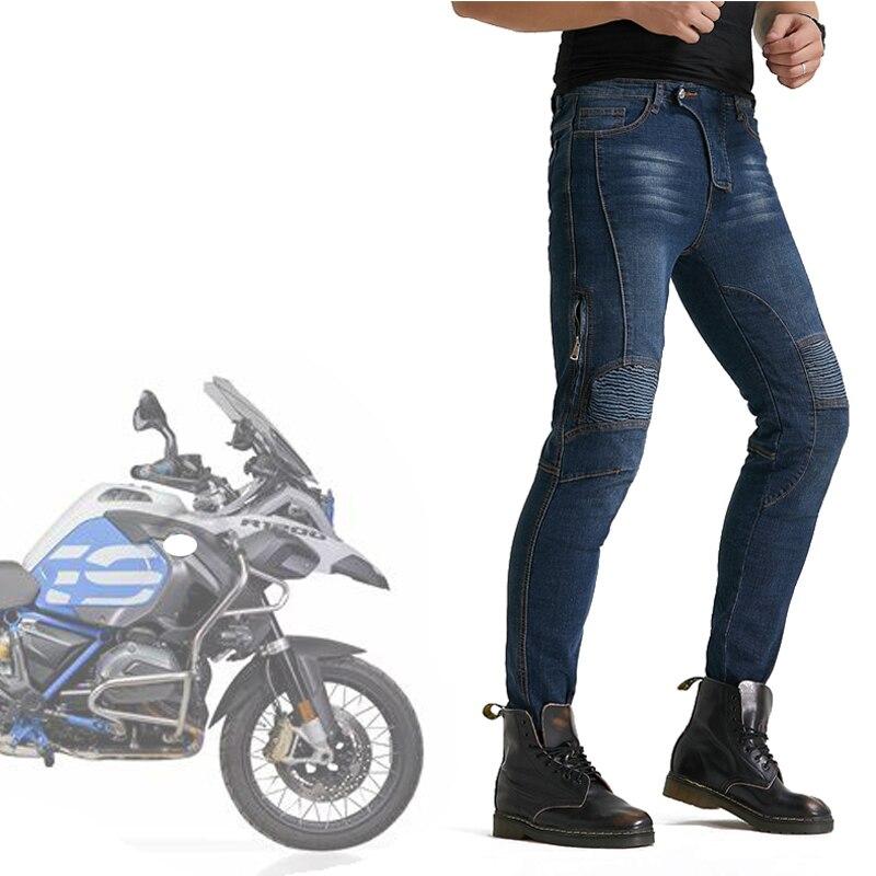 Pantalones de motociclista Loong para hombre, Pantalones de Motocross, Pantalones de Moto con almohadillas de cadera