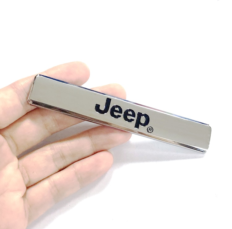 3D métal voiture emblème VIP Sport Badge autocollant accessoires pour Jeep Wrangler Grand Cherokee Renegade boussole patriote commandant