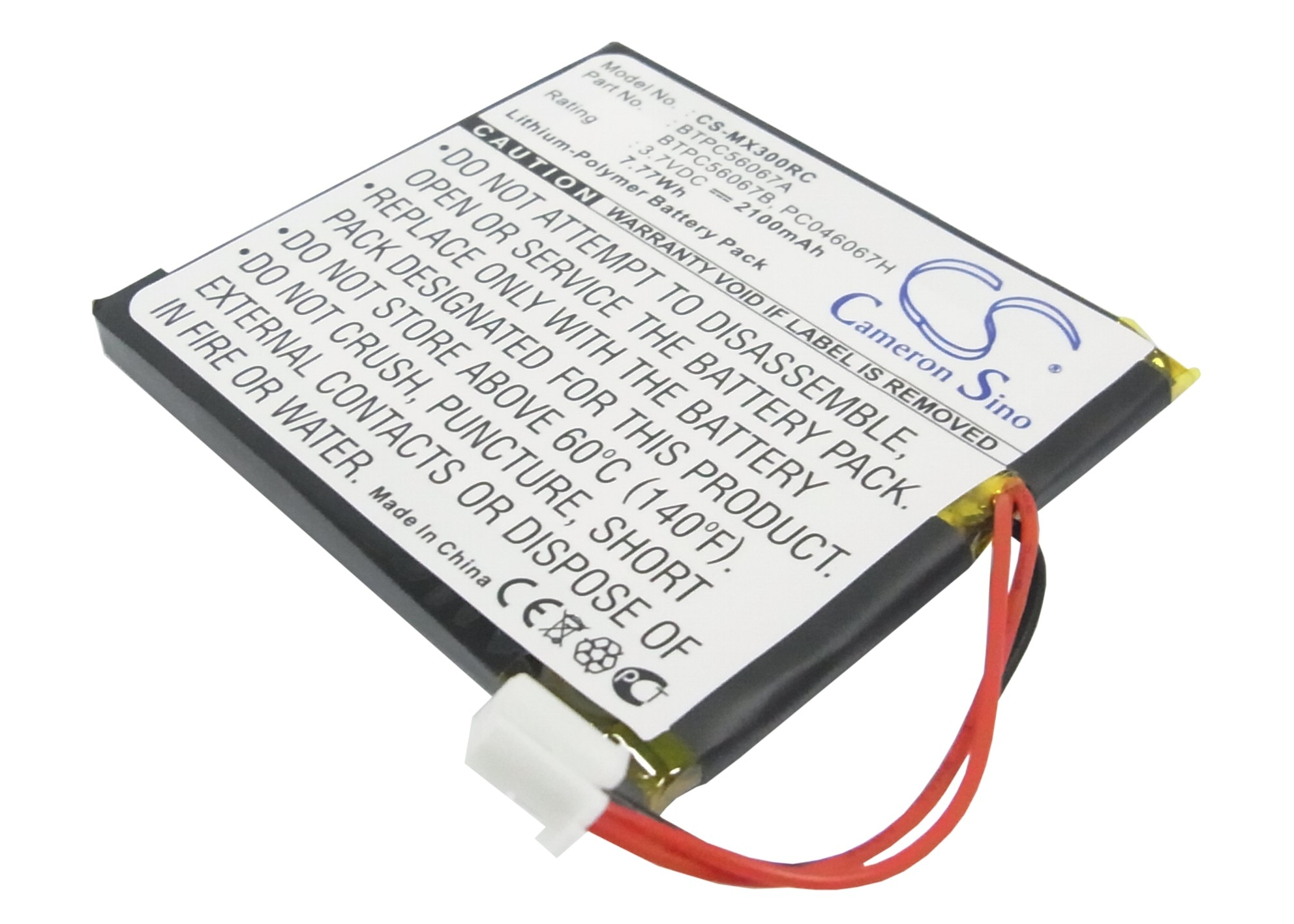 Cameron Sino для Crestron MT-1000C MiniTouch беспроводной Ha,MT-1000C-DS,STX-1700C,TPS-4L литий-полимерный