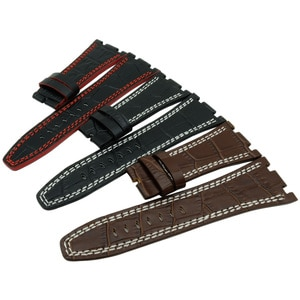New 28 mm For Audemars 100% Handmade Genuine Leather Handmade Watch Band Strap For AP For Piguet