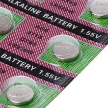 10 Uds Batería alcalina AG6 1,55 V botón moneda celular 371 SR920SW LR920 SR927 171 370 L921 LR69 SR920 baterías 77UA