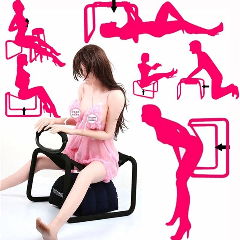 Silla almohada juguetes sexuales para parejas amor silla sexual mobiliario para sexo adulto juegos SM muebles eróticos para hombres y mujeres 11,11