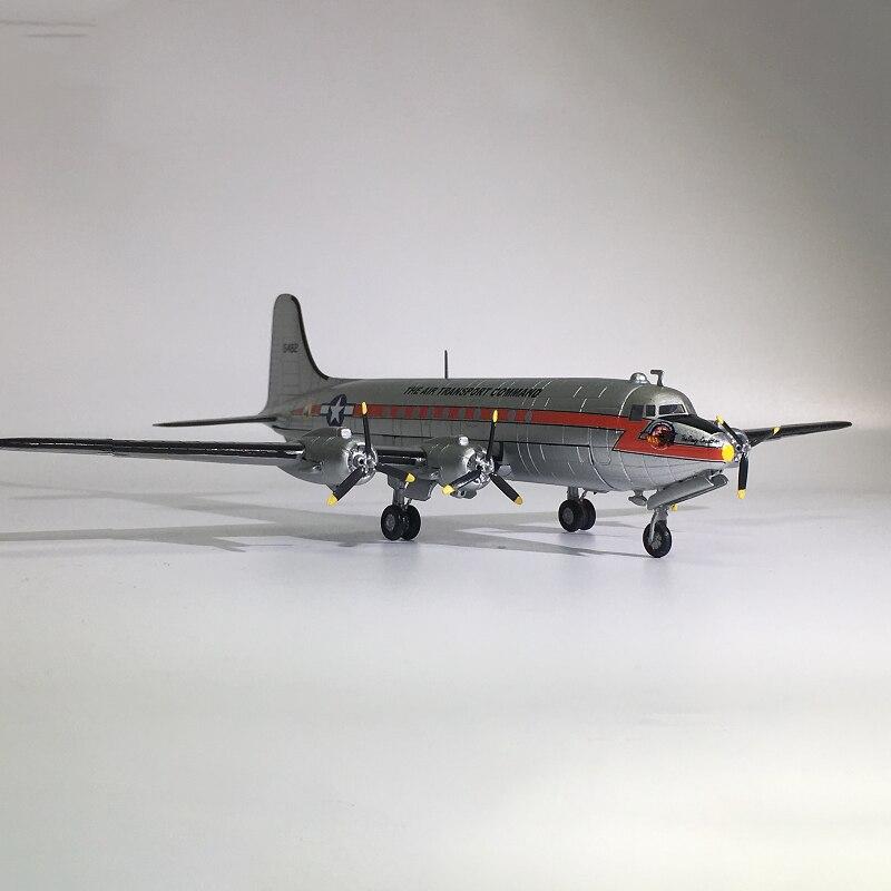 aviao de brinquedo para colecao 1 144 aeronave militar fundido de metal e transporte skymaster