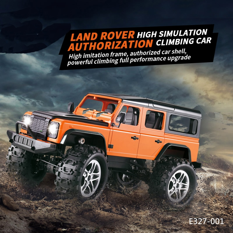 1:14 Rc Car Toy SUV Model Land Rovers Defender Car Simulation Electric Charging Toy Model wild off-r