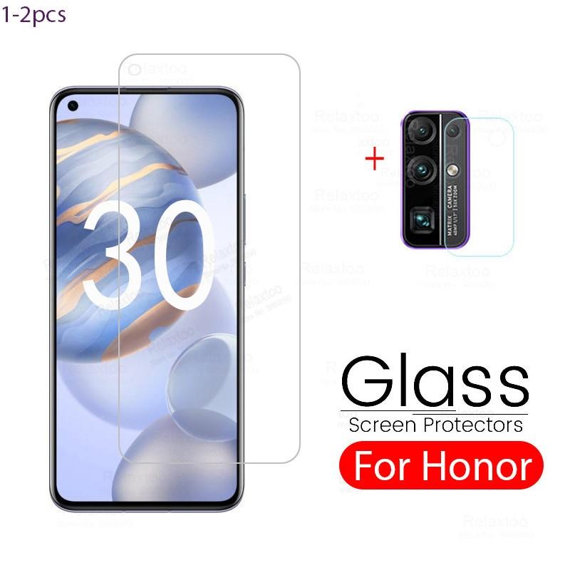 honor 30 premium protector glass for huawei honor 30 glass camera safety armor glass honer xonor 30