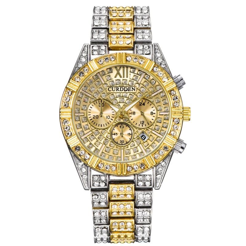 Часы Стразы, мужские роскошные полностью алмазные мужские часы, кварцевые мужские часы, мужские часы, подарок, мужские часы, мужские часы