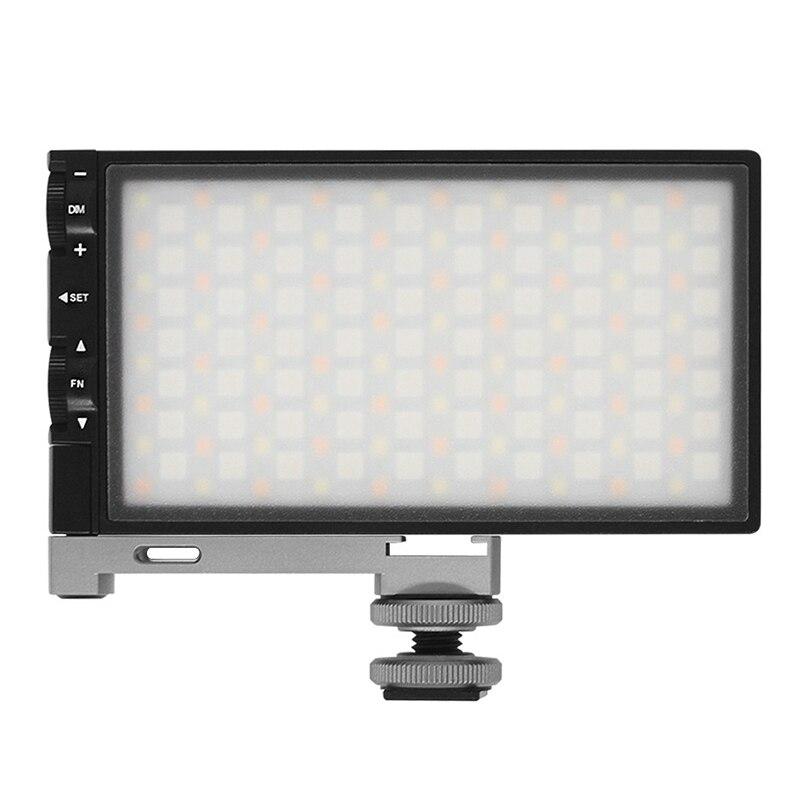 Luz LED para vídeo o fotografía, superventas, RGB 2500K-8500K, regulable, a todo Color, luz para cámara DSLR, PK BOLING BL-P1