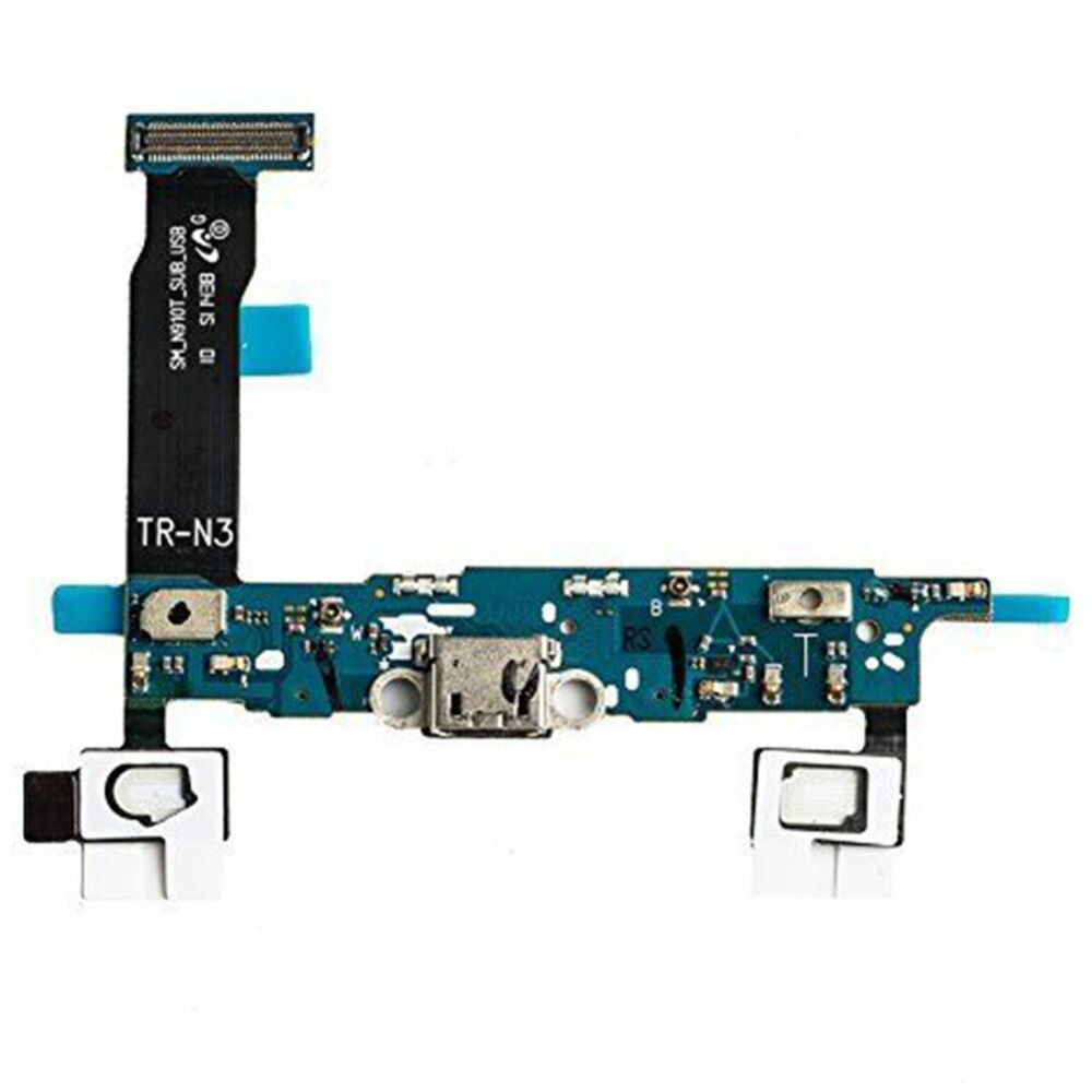 Puerto de carga Cable flexible conector para Samsung Galaxy Note 4 SM-N910F...
