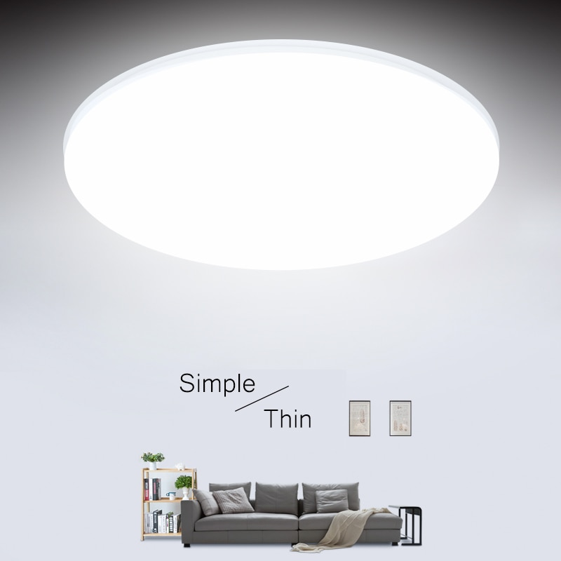 Modern LED Ceiling Lights for Living Room Bedroom Kitchen 15/20/30/50W Ceiling Lamps Lights Fixture for Ceiling Home Lighting