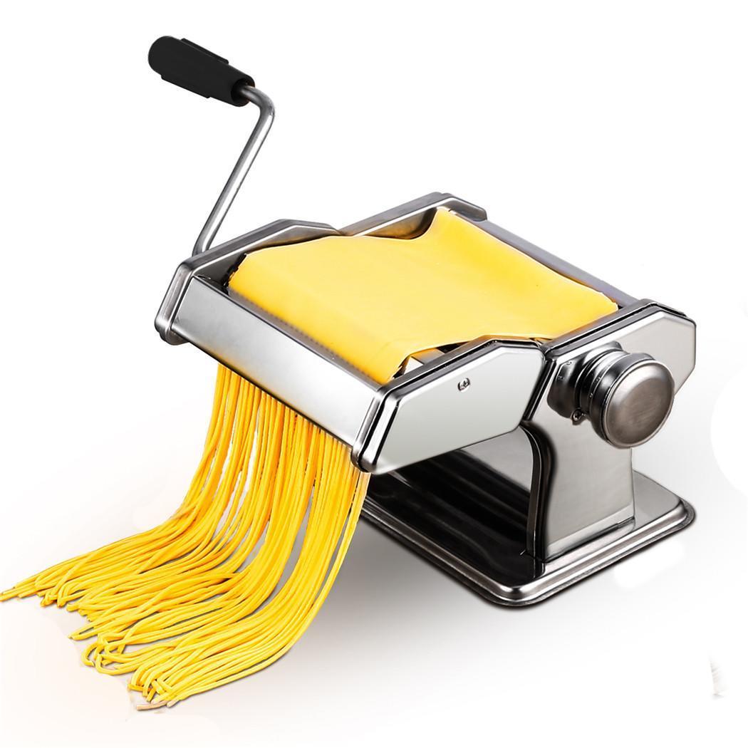 Máquina de rodillo cortador de Pasta manual para cocina casera, máquina de hacer fideos frescos, herramientas para prensar Pasta hechas a mano