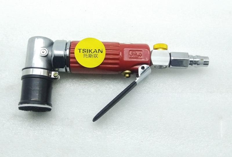 Nueva LIJADORA Orbital de 30mm de alta calidad, lijadora neumática, pulidora de puntos excéntricos de 90 grados