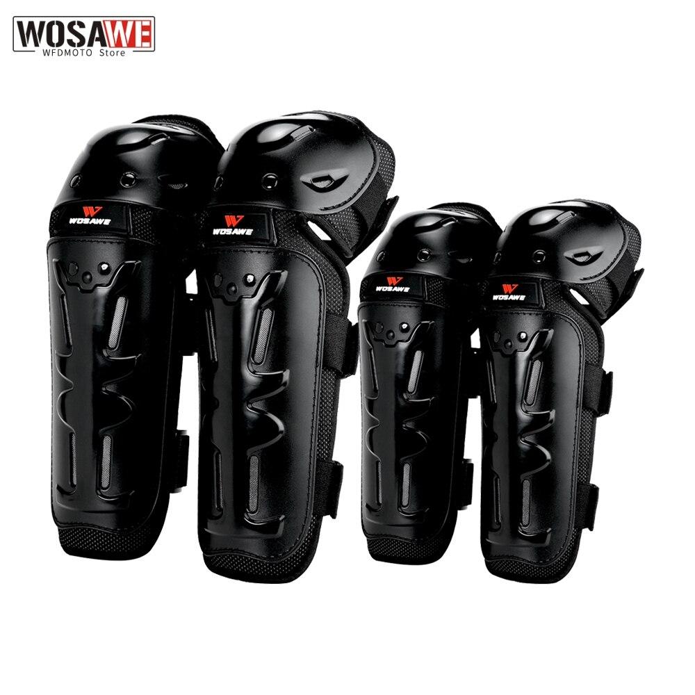 Наколенники WOSAWE, защита для мотоцикла, защита для колена, защитное снаряжение, универсальное Защитное снаряжение для мотокросса