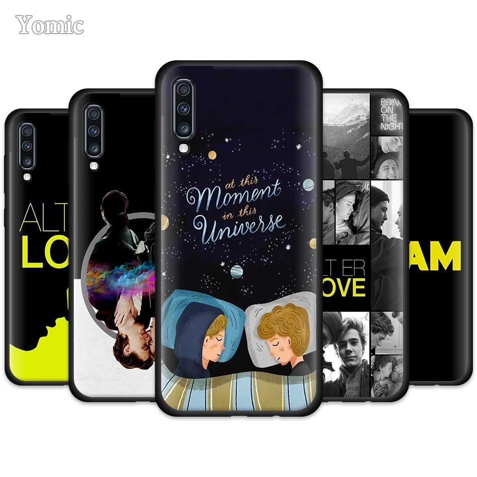 Skam Gay las mejores citas funda encantadora para Samsung Galaxy A50 A51 A70 A71 A10 A20 E A30 S A40 A80 A cubierta de teléfono de silicona negra cuántica