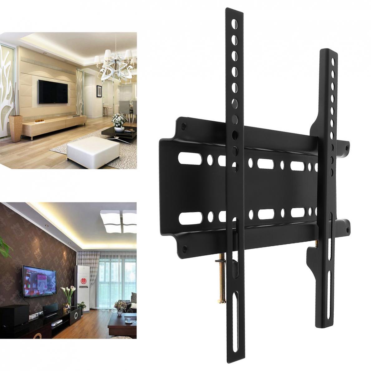 Universal TV soporte de montaje en pared Marco de TV para 12-37 pulgadas LCD Monitor LED de Panel plano de Plasma HDTV TV soporte