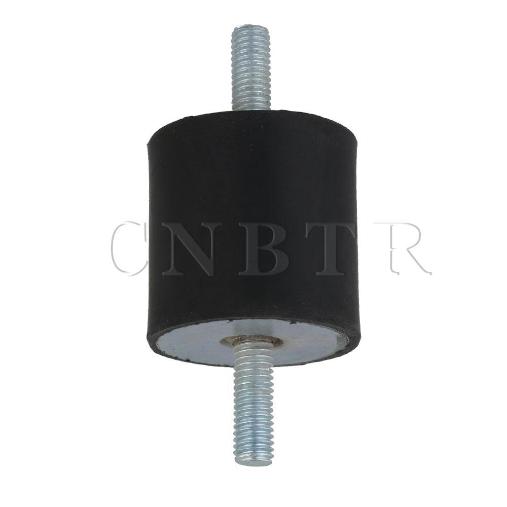Aislador de montaje de caucho negro tipo CNBTR M8 VV para generadores diésel 40x40mm
