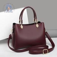famous designer brand handbags high quality 100 genuine leather material black ladies handbag luxury fashion shoulder bag