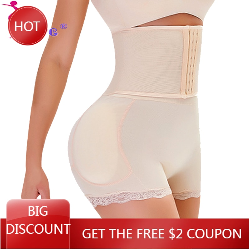 SEXYWG-bragas de Control de glúteos, entrenador de cintura, pantalones cortos modeladores de cuerpo, bragas acolchadas, moldeadores sexys, potenciador de cadera, ropa moldeadora de cuerpo