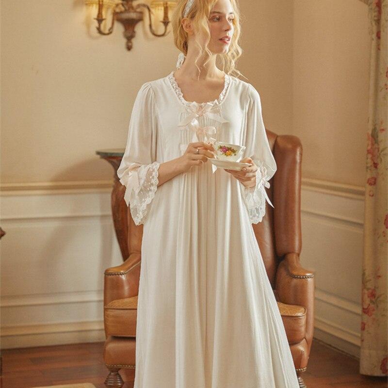 ثوب نوم للأميرة البيضاء ، ملابس نوم للحوامل ، الرضاعة الطبيعية