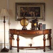 Nouveau style chinois style sud-est asiatique en bois console de luxe table Mesa de consola de lujo de madera de estilo asiático GH191