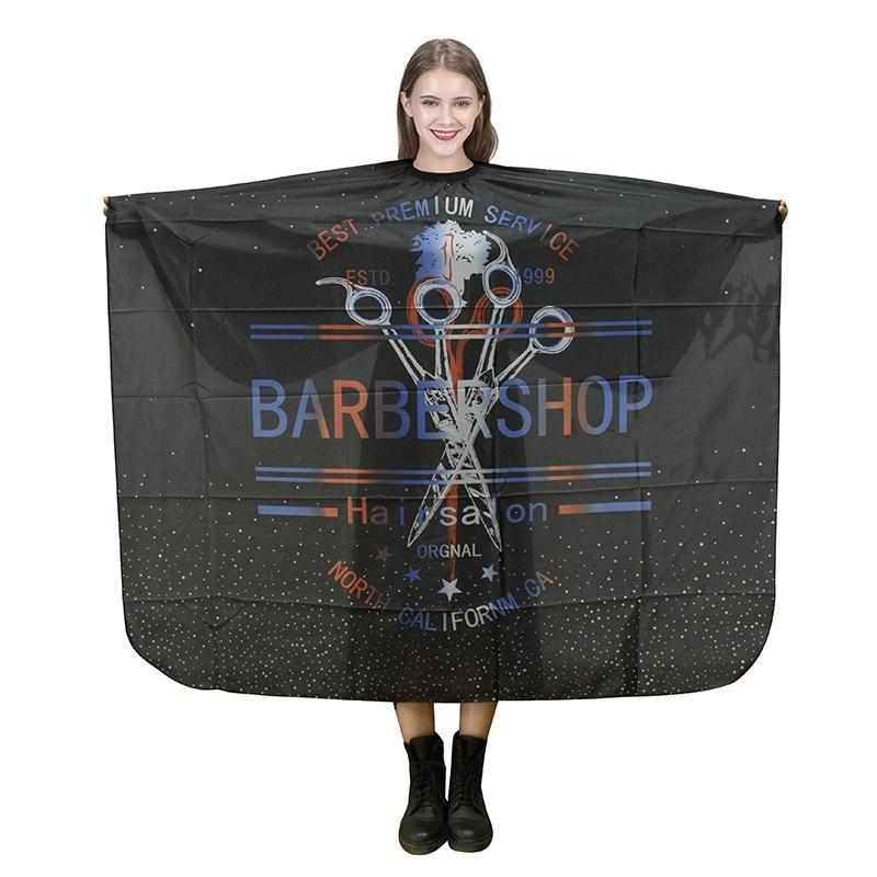140x160CM capas de peluquería corte de peluquería tela impermeable salón de peluquería capa vestido de peluquería envoltura