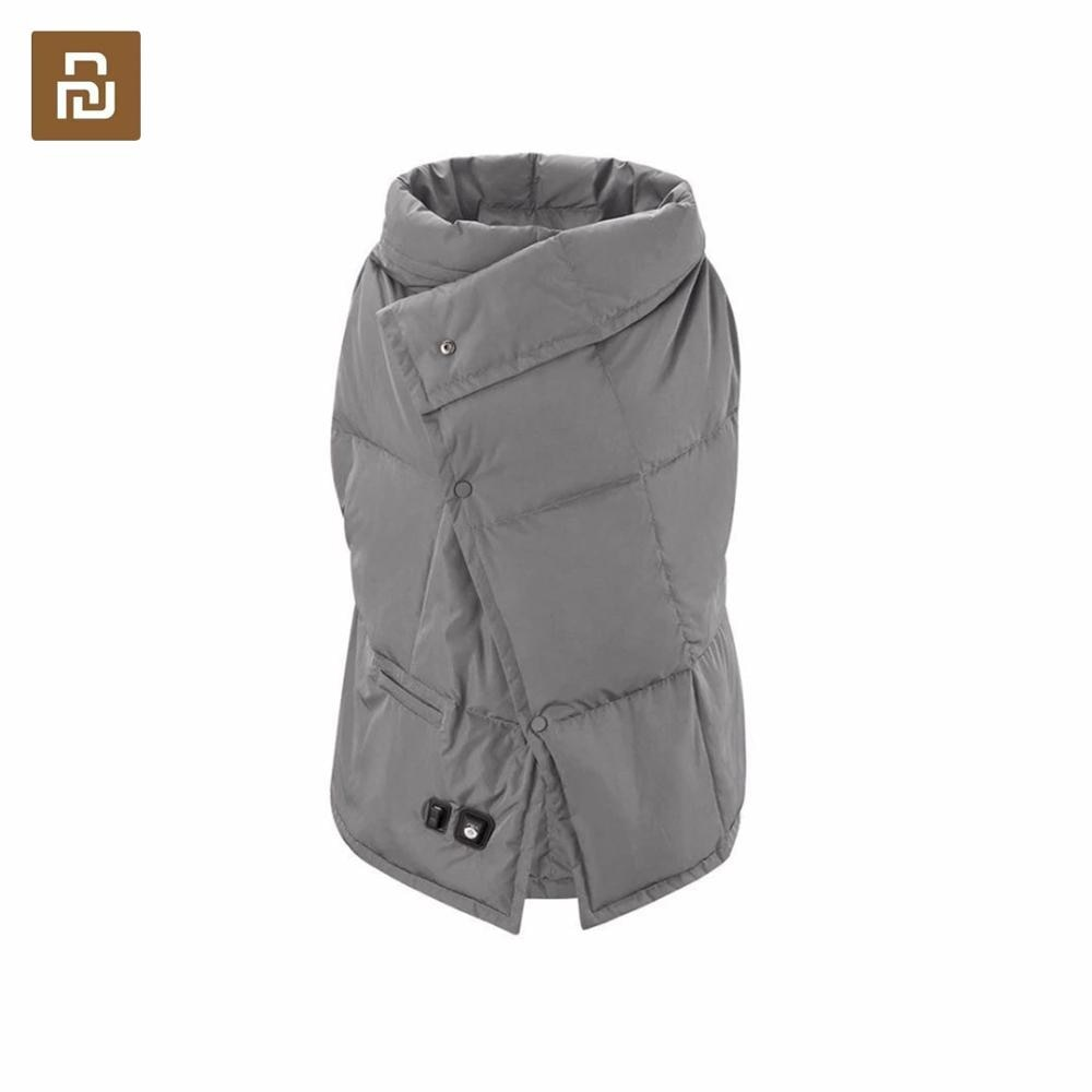 Youpin pma b20 grafeno cobertor de aquecimento multifuncional lavável colete quente rápido quente xale kneepad anti escald para escritório feminino