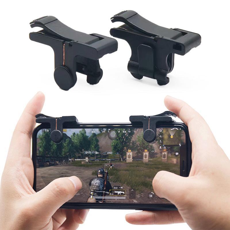 Smart Telefon Mobile Gaming Trigger für PUBG Mobile Gamepad Feuer Taste Ziel Schlüssel L1 R1 Shooter Pubg Controller