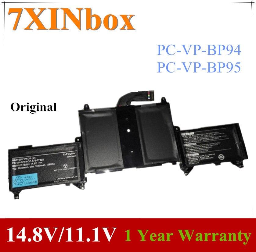7XINbox 14,8 V/11,1 V оригинальный PC-VP-BP94 PC-VP-BP95 Аккумулятор для ноутбука для LaVie Z LZ750/JS PC-VP-BP94 OP-570-77022