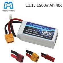Batterie LiPo 3S 11.1 v 1500mAh pour voiture Rc hélicoptère avion 11.1 v batterie Lipo Rechargeable T/XT60/JST Plug pour WLtoys V950