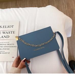 2020 Korean Style Shape-Fixed Bag Western Style One Shoulder Crossbody Bag Three-Dimensional Chain High Sense Small Square Bag