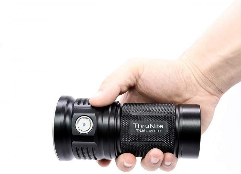 ThruNite TN36 Flashlight Limited Edition super Lumens 11000 CREE XHP 70B LED Powerful Flood Flashlight contain kit bundle lamp enlarge
