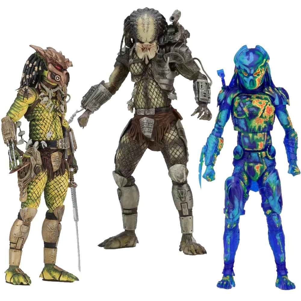 NECA-figuras de acción de la serie Alien Predator, Alien, Covenant, Elder Predator,...