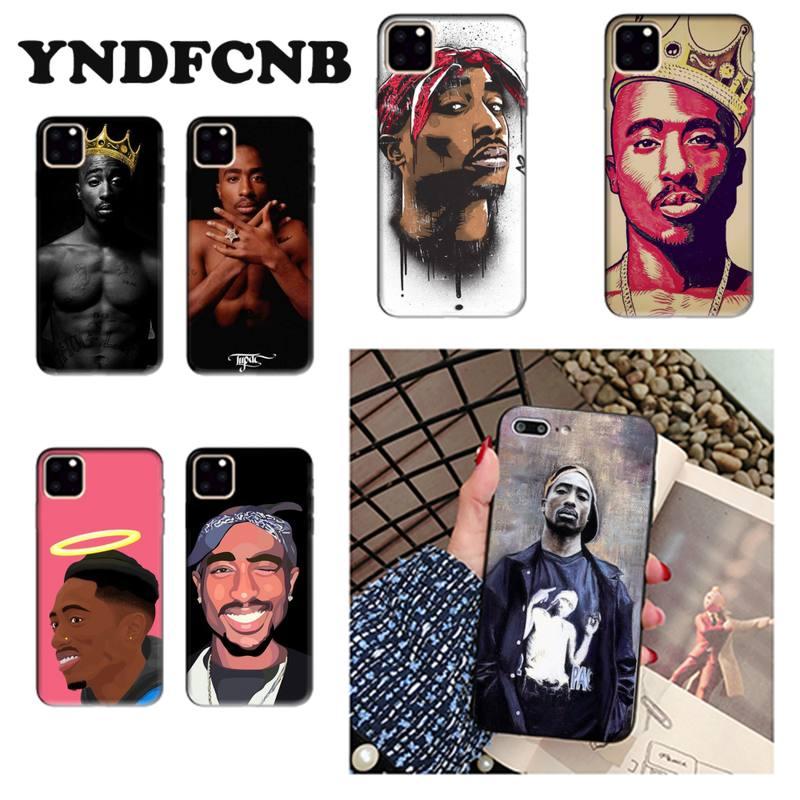 YNDFCNB 2Pac Tupac Amaru Shakur Makaveli caja del teléfono para iPhone 7 6 6S Plus X XS X MAX 5 5S SE XR 11 11pro promax
