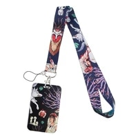sp1215 new lovely anime movie printed lanyards for keys phone neck straps hanging rope badge holder office school supplies