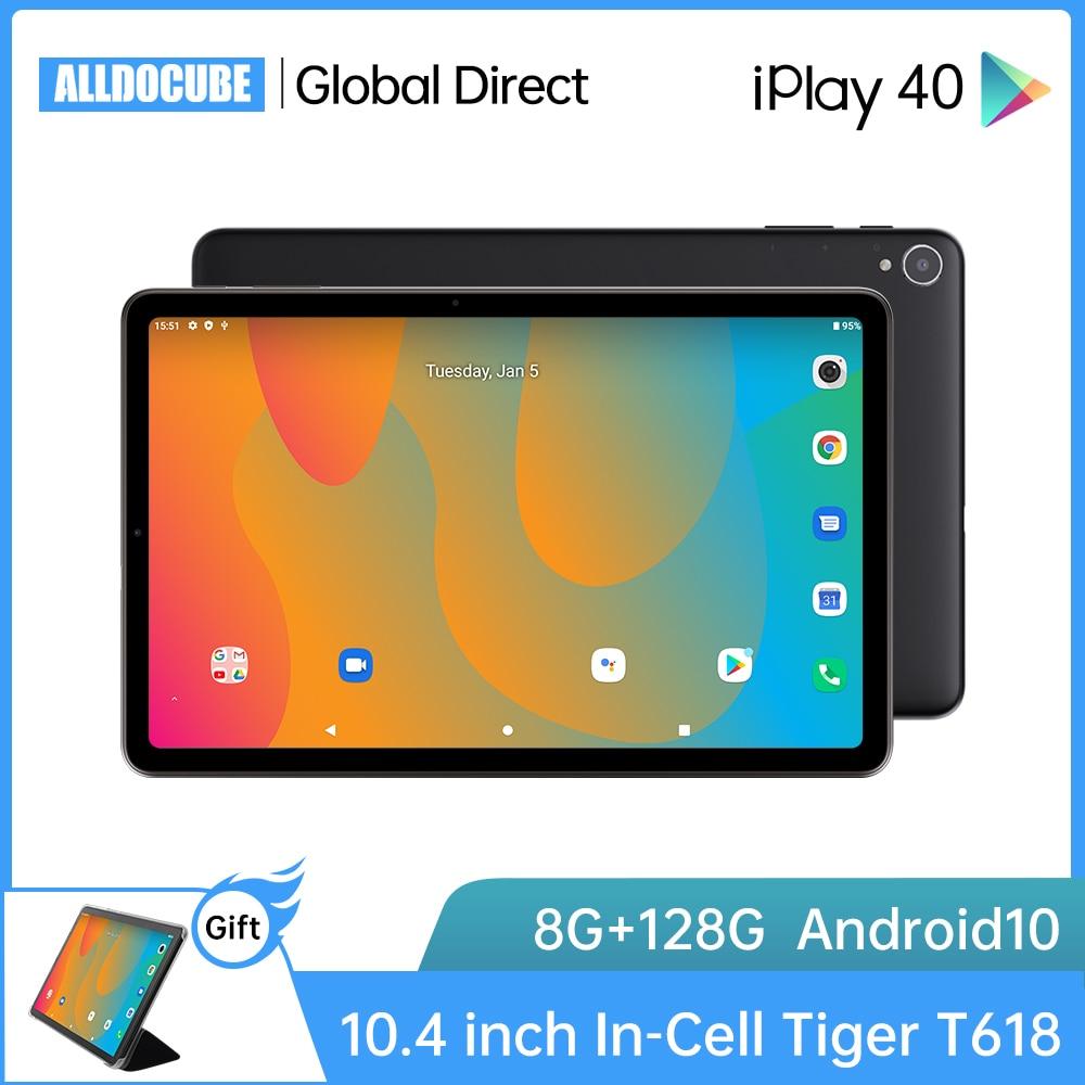 ALLDOCUBE iPlay40 Android 10 Tablet 10,4 zoll Octa Core 8GB RAM 128GB ROM Tabletten PC 4G lte 2K Fullview Bildschirm LCD iPlay 40