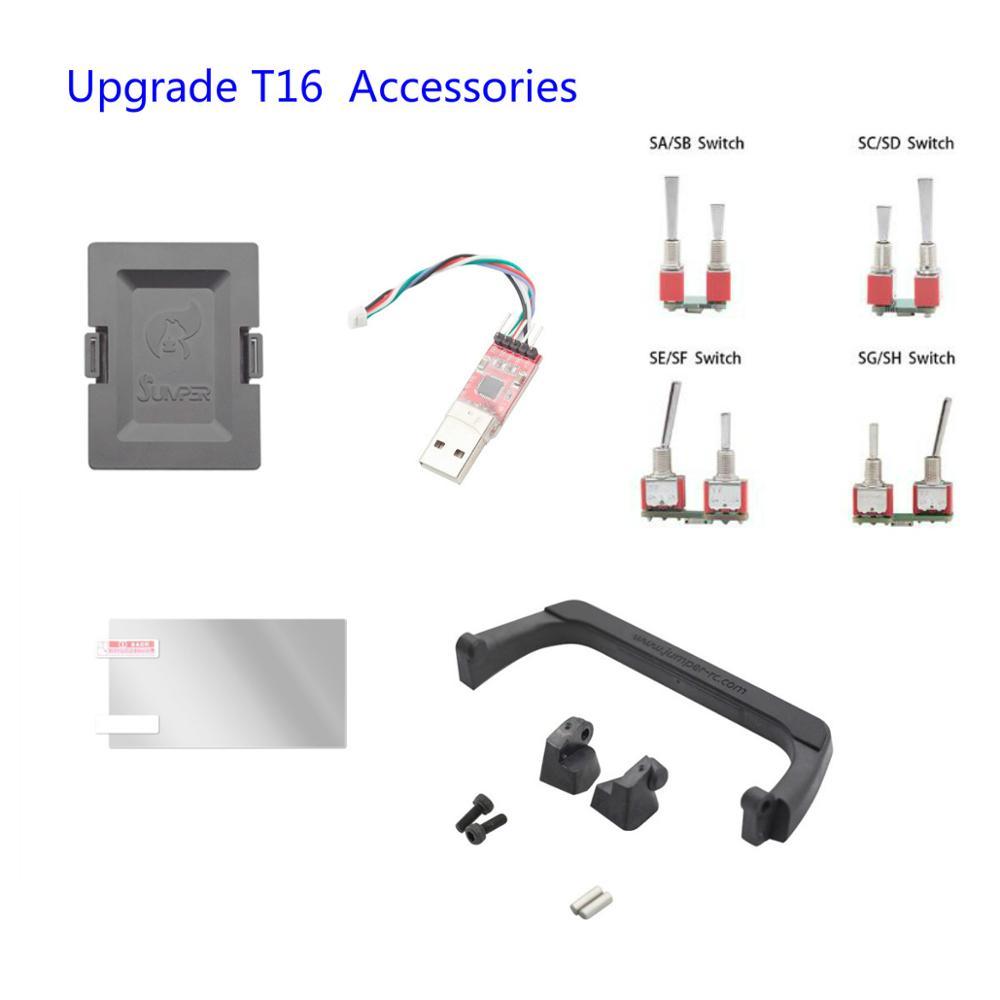 Accessoires de transmetteur de télécommande Radio T18 Pro T18 Lite T16 / T16 Plus / T16 Pro V2