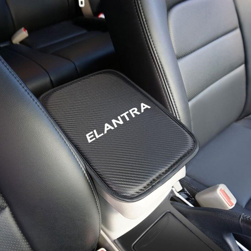 1 Uds. Almohadilla suave para reposabrazos Central de consola de coche para hyundai ELANTRA 2014-2019 accesorios de coche