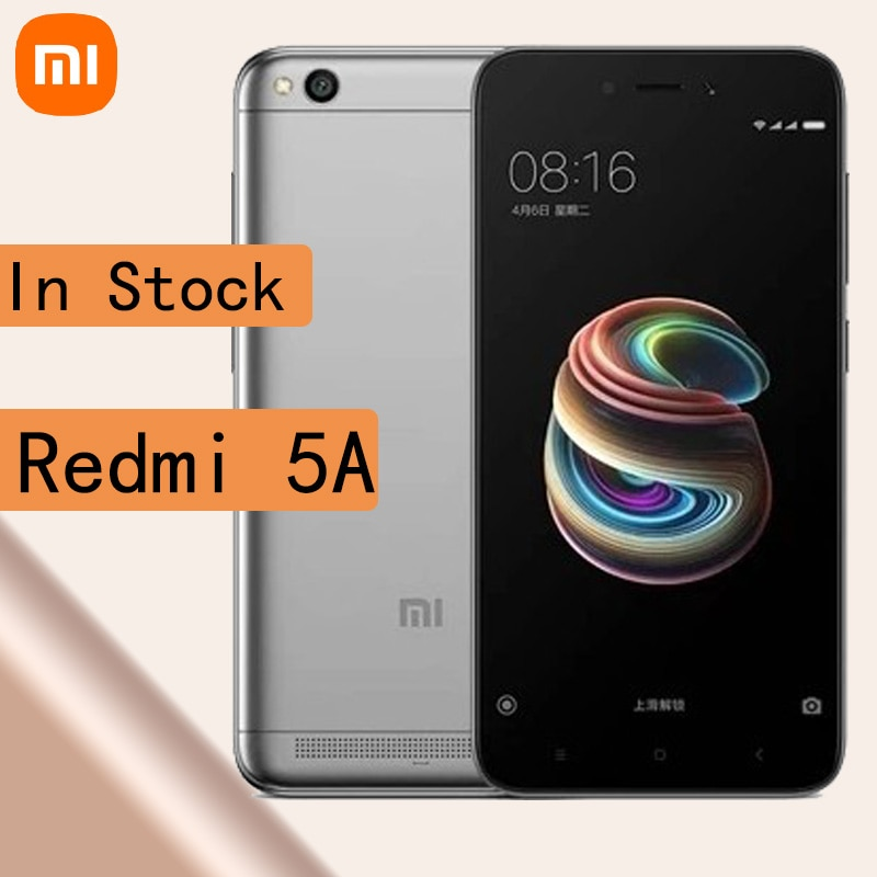 celular Xiaomi Redmi 5A smartphone 3GB 32GB Qualcomm MSM8917 Snapdragon 425
