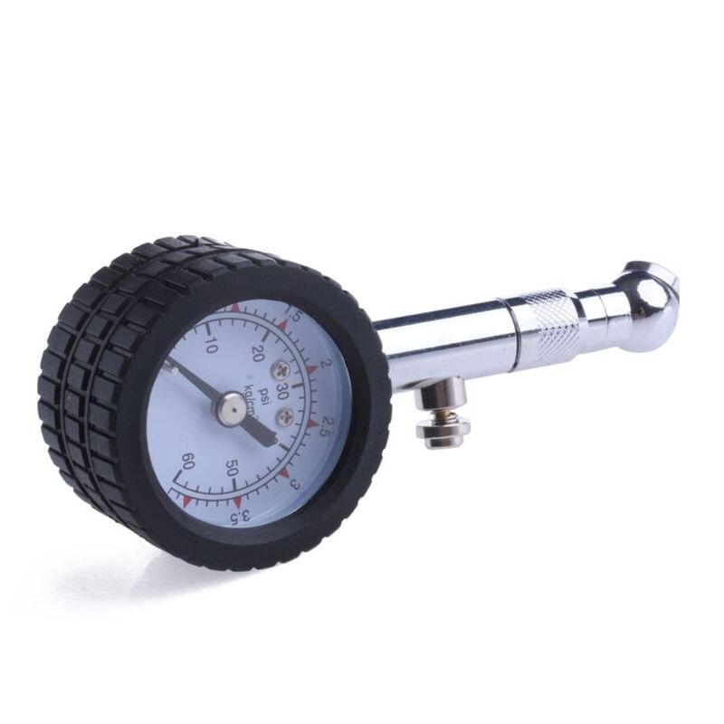Новый автомобиль автомобильная шина воздушный Давление датчик 0-60 фунтов на квадратный циферблат метр