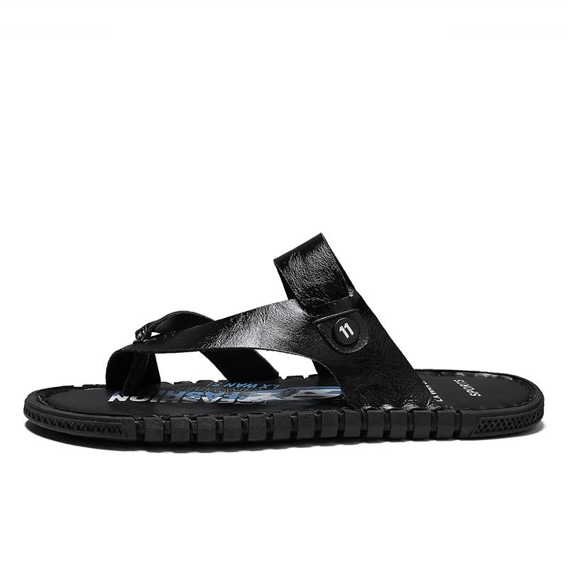 Sandalia masculina de verano para hombre, ropa para hombre, cuir para vietnam, erkek heren, chanclas ritable para hombre de goma v sandel sandalen flip