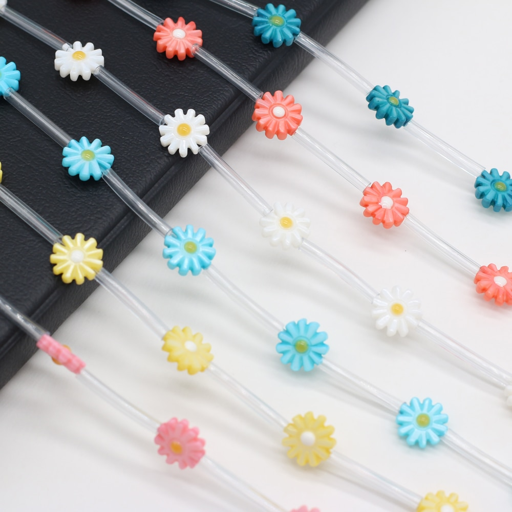 5Pcs 2021New Natural Freshwater Shell Sun Flower Beads Multicolor for DIY Jewelry Making Necklace Bracelet Accessories Gift недорого