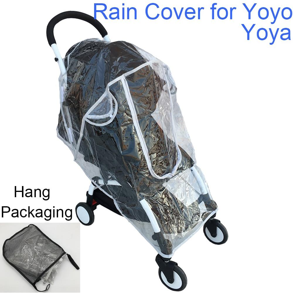 Safety EVA Baby Car Rincoat Baby Stroller Accessories Rain Cover Waterproof Cover for Babyzen Yoyo Yoya Babytime Babysing