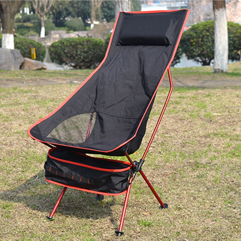2020 Outdoor Camping Chair Oxford Cloth Portable Folding Camping Chair Seat For Fishing Festival Picnic BBQ Outdoor Chair enlarge