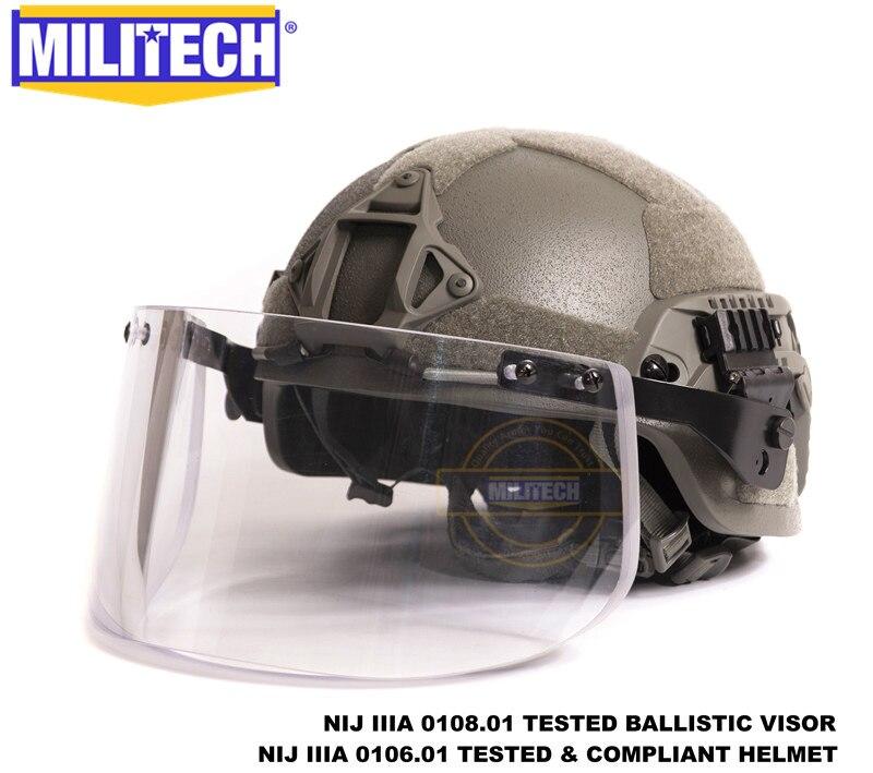 العسكرية FG MICH ACH قوس OCC الهاتفي بطانة NIJ المستوى IIIA 3A الأراميد الرصاص DEVGRU خوذة مع التكتيكية الباليستية قناع Se