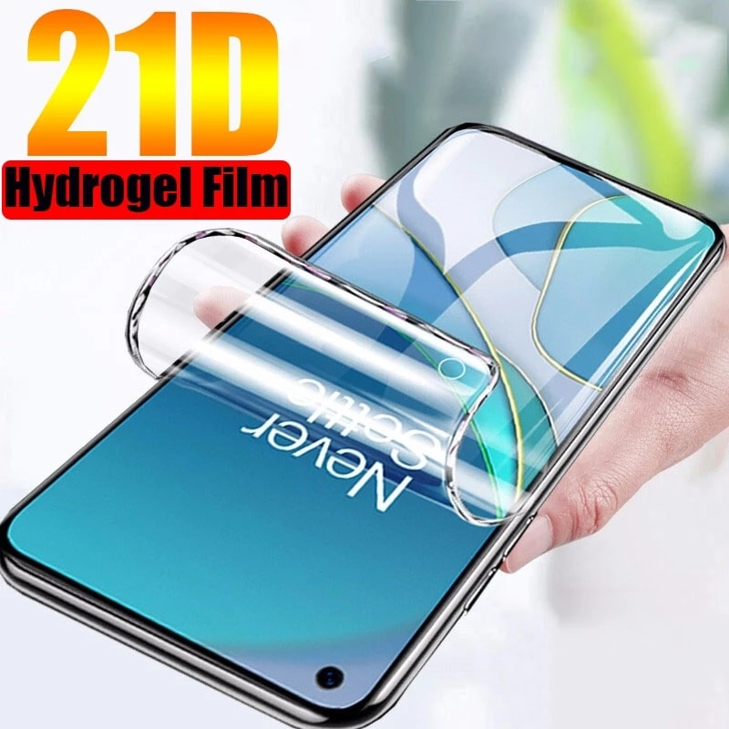 For OnePlus Nord N200 5G Screen Protector For OnePlus Nord  N100 N10 CE 8T Hydrogel Film Phone Film For OnePlus 9R 5G 9Pro 9