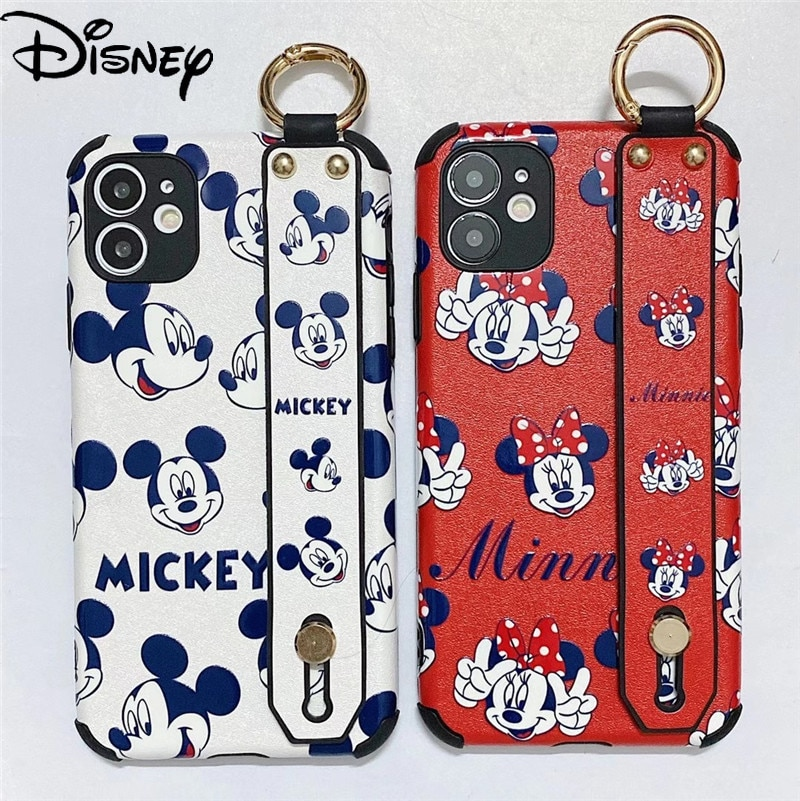 Disney Mickey Minnie for iPhone12/11ProMax mobile phone case XR/7Plus/12mini/7/7p/8/8p/x/xsmax/11 mobile phone cover  - buy with discount