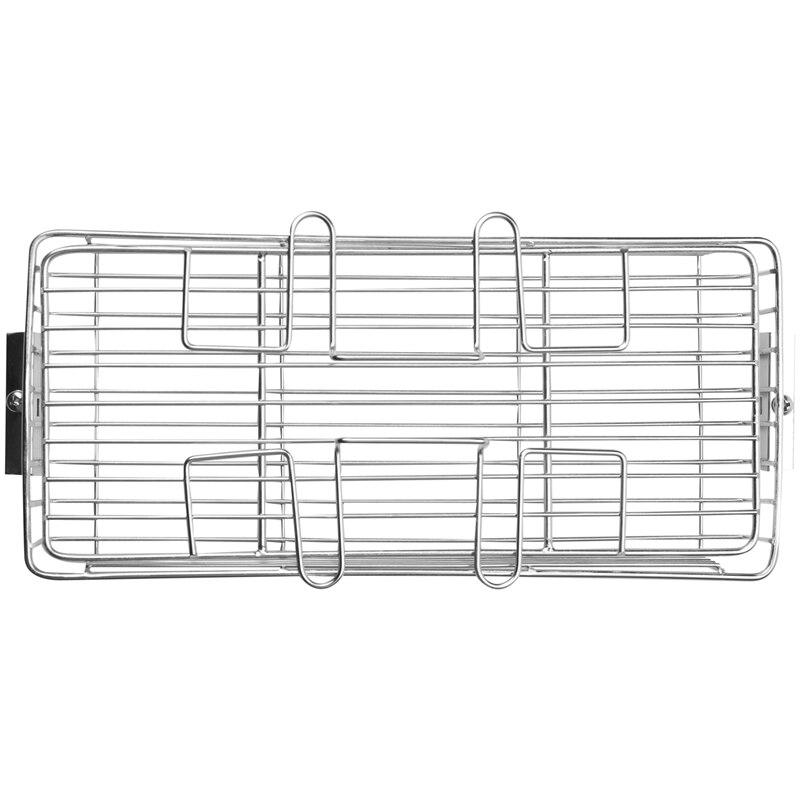 Asador de parrilla de acero inoxidable 25L-30L, asador de barbacoa, asador, Ovenware, pinchos, jaula giratoria para horno, asador de pescado, camarón, carne, estante, herramientas para hornear