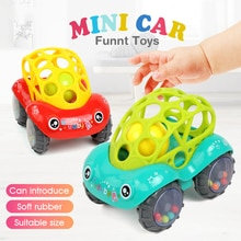 Bearoom bebê chocalhos celulares fuuny brinquedos do bebê inteligência agarrar gomas mordedor macio plástico mão sino martelo educacional presente